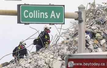 Search for bodies concludes at Florida condo collapse site