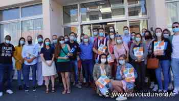 Berck: Trente-deux étudiants ont reçu leur diplôme d'infirmier - La Voix du Nord