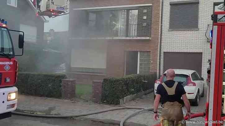Brandweer moet uitrukken voor frietketel die keukenbrand veroorzaakt