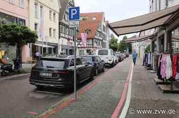 Warum in der Schorndorfer Innenstadt wieder zwei Parkplätze wegfallen - Schorndorf - Zeitungsverlag Waiblingen