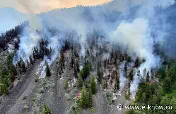 Bill Nye burns past 1,000 ha   Columbia Valley, Cranbrook, East Kootenay, Elk Valley, Kimberley, Ktunaxa Nation - E-Know.ca