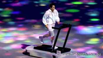 Treadmill girl becomes instant Tokyo 2021 meme