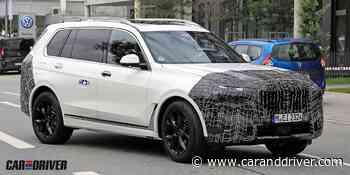 22/07/2021 BMW X7 2022: Cambios en marcha para el coloso alemán El SUV más - Car and Driver