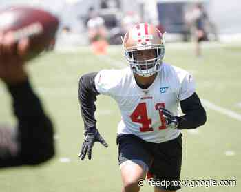 Trey Lance 49ers' lone unsigned rookie after Ambry Thomas inks deal