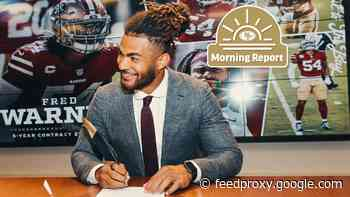 Morning Report: Fred Warner Signs On for Five More Years in SF