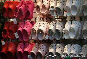 Crocs is suing Walmart, Hobby Lobby and others for allegedly copying its iconic clogs