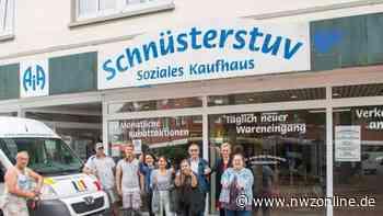 Arbeitsinitiative in Westerstede: Schnüsterstuv nach Wasserschaden wieder geöffnet - Nordwest-Zeitung