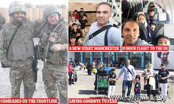 Hero translator who delivered troops from Afghan battle can show face after gaining sanctuary in UK