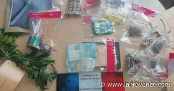 Vaucluse : une habitante de Beaumont-de-Pertuis revendait du cannabis - La Provence