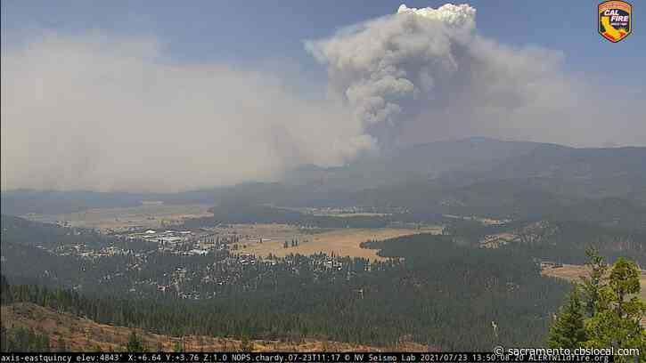 Dixie Fire Update: Smoke From The 142,940-Acre Fire Is Now Drifting Into The Sacramento Valley