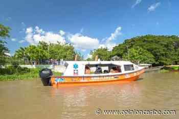 Preparan denuncias judiciales por ambulancia acuática vandalizada en Sitionuevo - Opinion Caribe