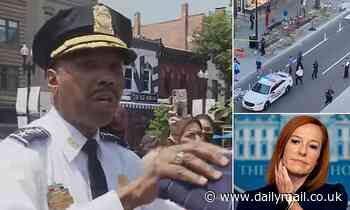 D.C. police chief Robert Contee on rising crime in the city: 'You cannot coddle violent criminals'