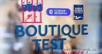 La CCI Rouen Métropole et la Ville de Saint-Aubin-lès-Elbeuf prolongent l'appel à candidature pour « La boutique test » - Normandinamik