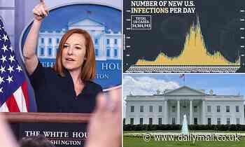 Psaki swipes at reporter, says White House won't release records on White House breakthrough cases