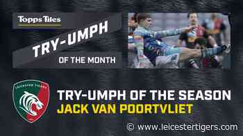 Topps Tiles Try-Umph of the Season winner is... - Leicester Tigers