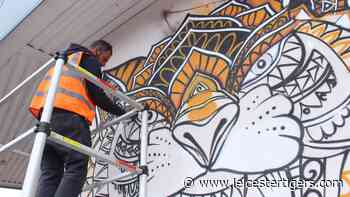 Tiger mural time-lapse   The Spirit of Leicester - Leicester Tigers