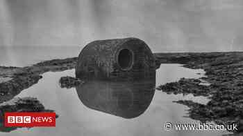 Tusker Rock's shipwrecks graveyard captured in art project