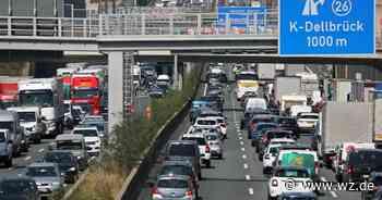 Rheinspange: Neue Rheinquerung soll Autobahnen im Großraum Köln entlasten - Westdeutsche Zeitung
