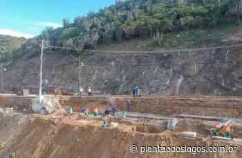 Obras de contenção na Prainha, em Arraial do Cabo, avançam - Plantao dos Lagos