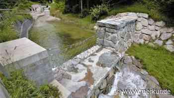 Hochwasserverbauung am Lainbach in Mittenwald: Bewährungsprobe locker bestanden - Merkur.de