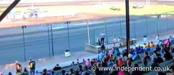 Race track announcer ousted after going on racist rant over loudspeaker