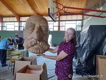 Saint-Jean-de-Luz : la construction des marionnettes avance à pas de géant, il est grand temps de les habiller - Sud Ouest