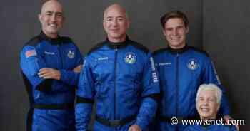 Teen on Blue Origin flight told Bezos he's never ordered off Amazon     - CNET