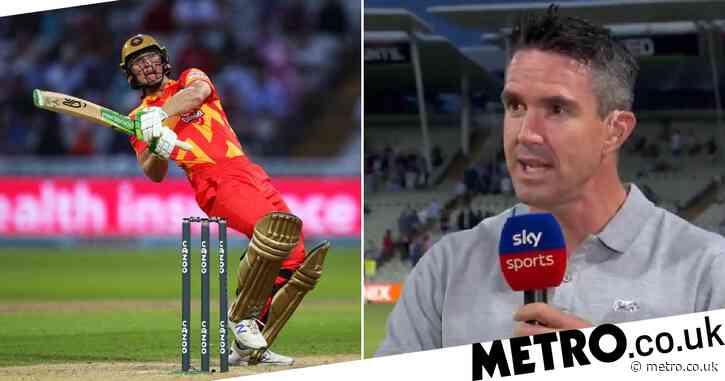 'What is that?!' Kevin Pietersen stunned by Chris Benjamin shot as Birmingham Phoenix beat London Spirit in The Hundred