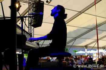 Party in entspannter Atmosphäre - Isfar Sarabski eröffnet das Rivertone-Festival - idowa