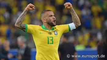 Olympia in Tokio: Ohne Neymar, aber mit Routinier Dani Alves - Brasilien will Titel verteidigen - Eurosport DE