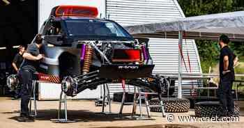 RS Q E-Tron: Audi's Dakar-bound dirt devil gets tested     - Roadshow
