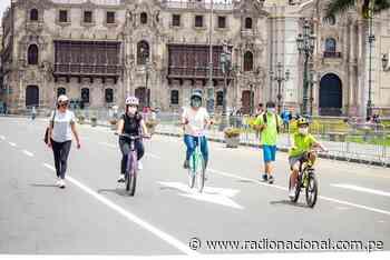 Organizan actividades en bicicleta por los 200 años de la independencia nacional - Radio Nacional del Perú