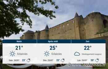 Sedan et ses environs : météo du vendredi 23 juillet - L'Ardennais
