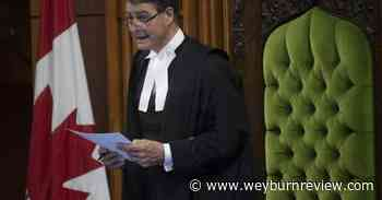 Government interfering with 'exclusive jurisdiction' of House, Speaker tells court - Weyburn Review