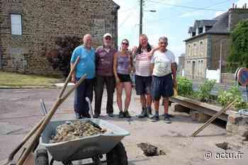 Incendiée en juin, la Cabanadon de Vire Normandie reconstruite par les forçats du bénévolat - La Voix Le Bocage