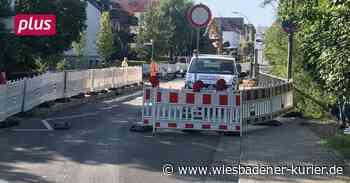 Taunusstein Umleitungen und Baustellen in Taunusstein - Wiesbadener Kurier