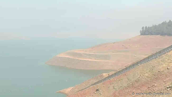 California's Drought Drying Up Lake Oroville, Shutting Down Power Plant At Wildfire Season Peak