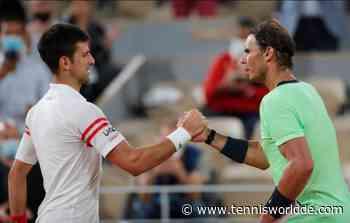 Rafael Nadal gratuliert Novak Djokovic, nachdem er seinen Major-Rekord erreicht hat - Tennis World DE