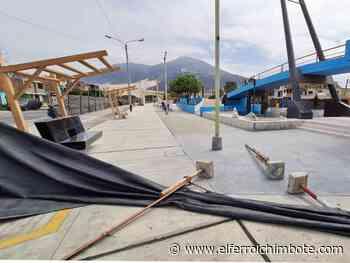 Chimbote: Consorcio abandona obra de mejoramiento en bulevar Isla Blanca - El Ferrol de Chimbote