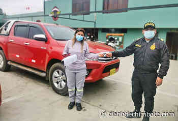 POLICÍA LOGRA RECUPERAR EN HORAS CAMIONETA ROBADA - Diario de Chimbote