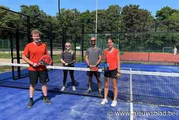 Padel spelen kan nu ook in sportcentrum Osbroek - Het Nieuwsblad