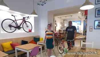 """Rue des Frères Delga à Gaillac : """"La Bonne Echappée"""" invente le café-vélo - LaDepeche.fr"""