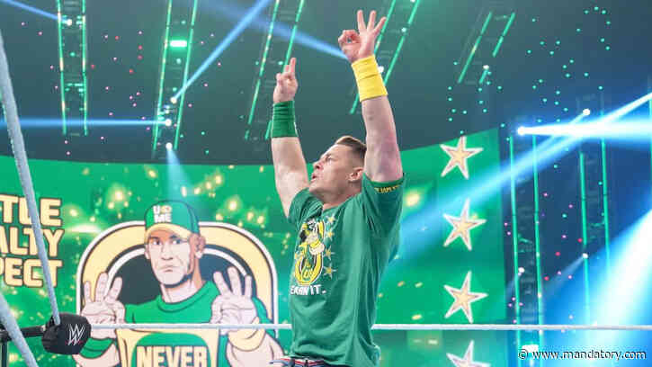 John Cena Returns To SmackDown, Tells Roman Reigns 'The Champ Is Here'