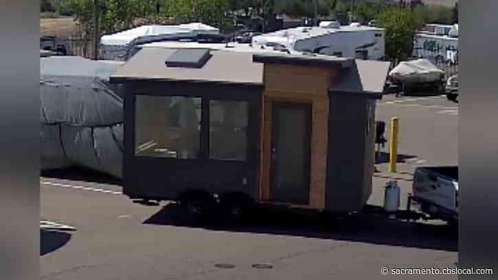 Tiny Home Stolen From Storage Facility In In El Dorado Hills