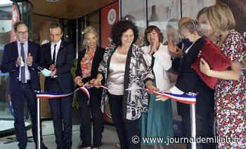 MILLAU: La ministre Frédérique Vidal inaugure le campus connecté - Journal de Millau