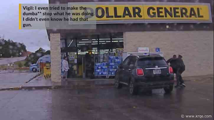VIDEO: Scuffle between NMSP officer, suspected shoplifter outside Dollar General