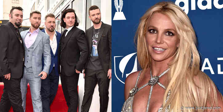 'N Sync Tweets Support For Britney Spears As Lance Bass Weighs In On Conservatorship