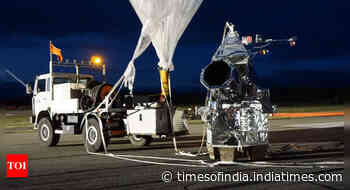 NASA to use a football stadium-sized balloon to lift the 'successor' to the Hubble telescope - Times of India