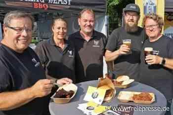 Streetfood-Festival hat begonnen - Freie Presse