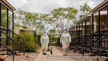 Six sprung entering Darwin from hotspot - The Recorder